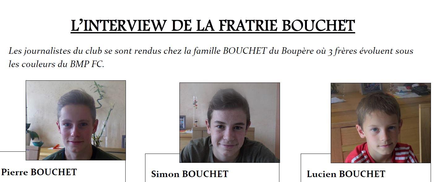 Interview des frères Bouchet (Mai 2019)